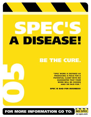 NO!SPEC poster download