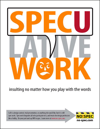 NO!SPEC poster download